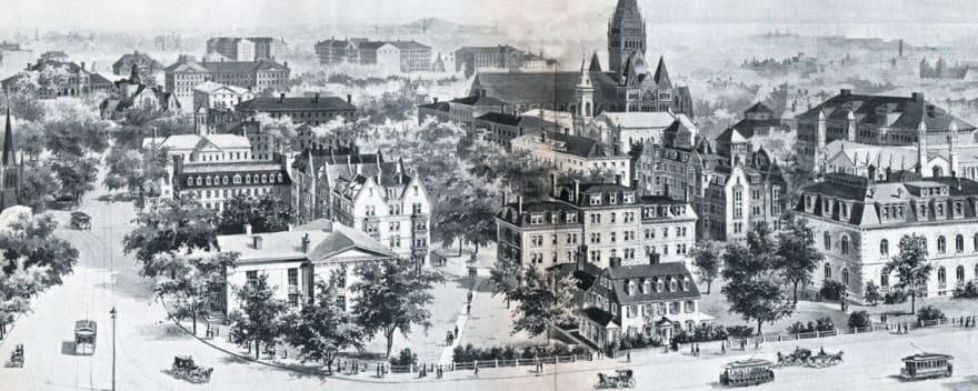 Harvard Square's Hidden History