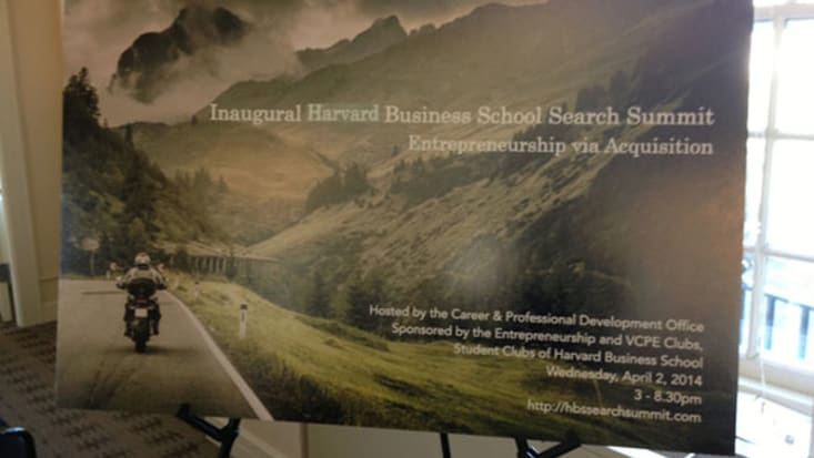 Reflecting on the HBS Search Summit