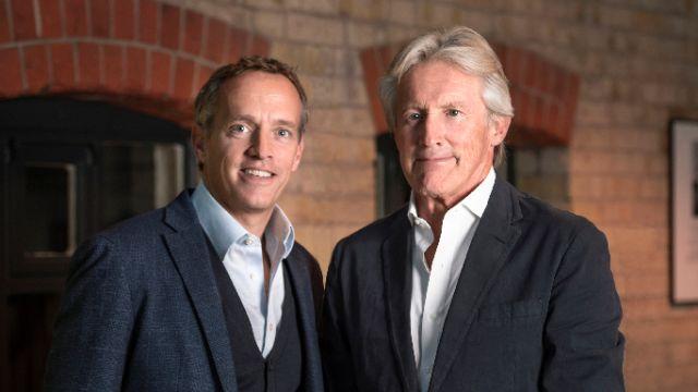 Cameron Ogden (MBA 2006) and Peter Ogden (MBA 1973)