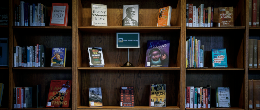 Baker Library's Latest Collection: Little Black Library
