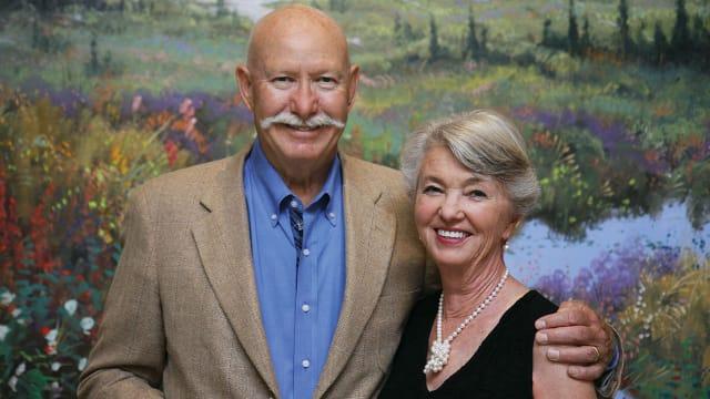 Gary (MBA 1963) & Terie Roubos