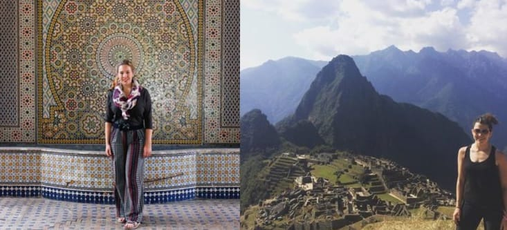 MEET YOUR PROGRAM MANAGERS: Casey O'Connor and Christy Stine, New Delhi FGI