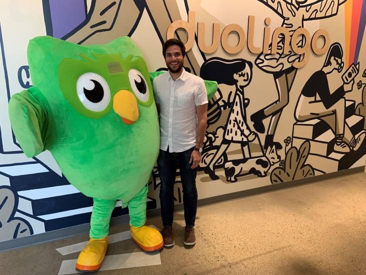 Learning the Language of Product at Duolingo