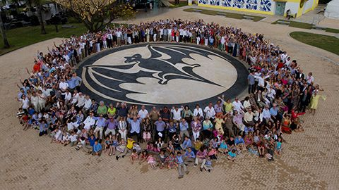 Bacardi family photo in honor of 150 year anniversary