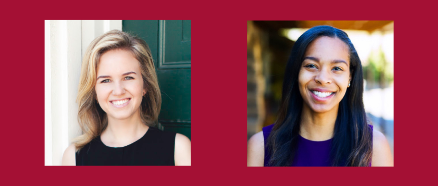 Q+A on the Socioeconomic Inclusion Task Force with Holly Fetter (MBA 2020) and Alexxis Isaac (MBA 2020)