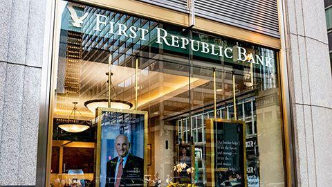 First Republic Bank branch on Park Avenue NY NY