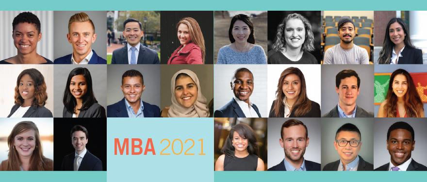 Harvard Business School Class of 2021 Student Profiles