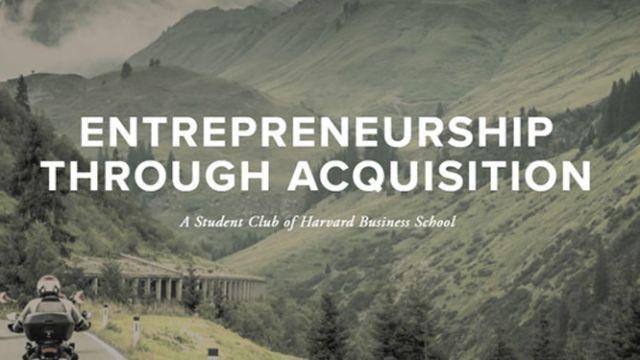 Meet the Entrepreneurship Through Acquisition (ETA) Club
