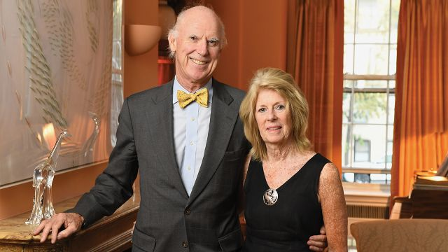 Tom (MBA 1969) and Patricia Barry