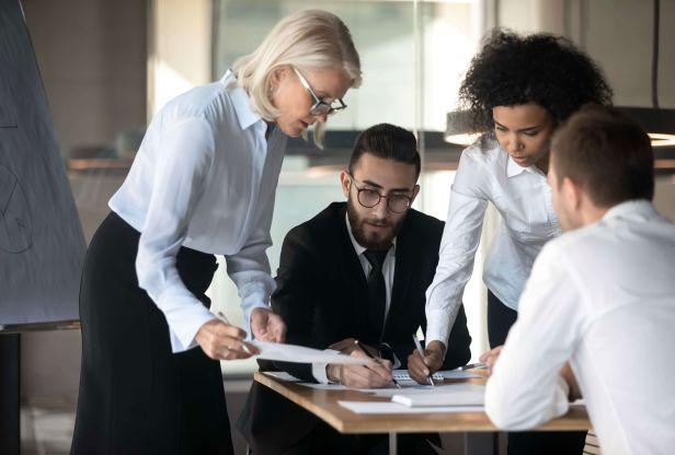 Executives discuss data
