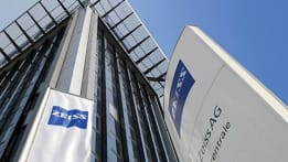 Zeiss corporation signage