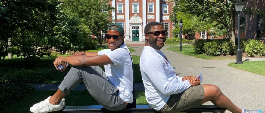 A Lifelong Friendship: From Classmates in Cameroon to Roommates at HBS