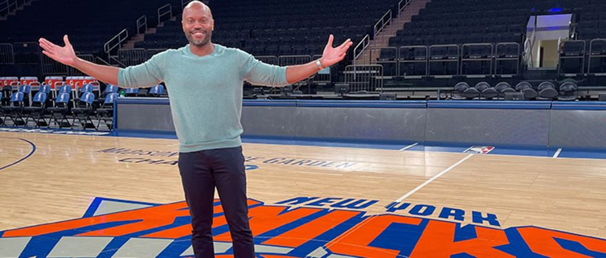 Taking Your Shot in the Sports Industry with Adam Laitsas (MBA 2016), SVP, Head of Marketing for Madison Square Garden Sports Corp.