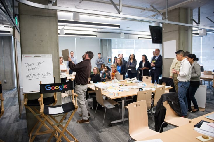 HBS Hacks: Alumni Solving for the Future of Work in San Francisco