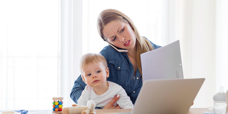 How to Work from Home When Your Kids Are Home, Too