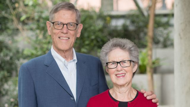 Kurt (MBA  1967) & Louise Wulff